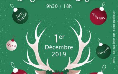 Marché de Noël à Chanonat