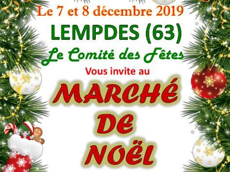 Marché de Noël à Lempdes